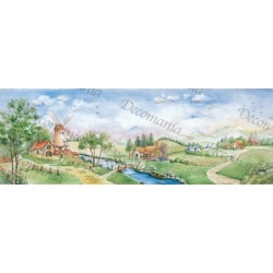 CARTA DI RISO DECOMANIA SERIE EXTRA 25X70 M1153