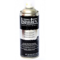 SPRAY LIQUITEX VERNICE FINALE BRILLANTE 400ML PER DIPINTI