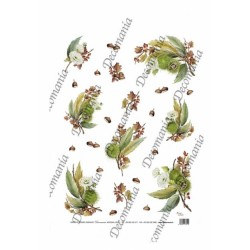 CARTA DI RISO DECOMANIA SERIE 35X50 5038