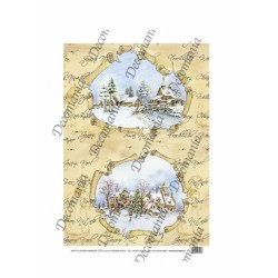 CARTA DI RISO DECOMANIA SERIE 35X50 5042