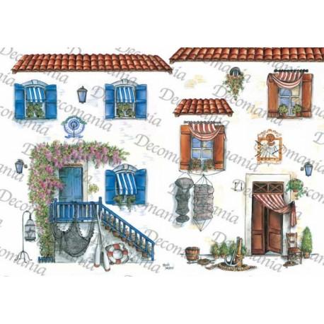 CARTA DI RISO DECOMANIA SERIE 35X50 5066
