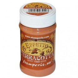 EFFETTO TERRACOTTA TERRA BRUCIATA 100 ml STAMPERIA