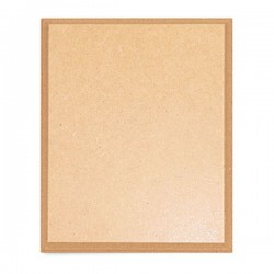 TARGHETTA IN MDF DA DECORARE 25.5X20X2 CM