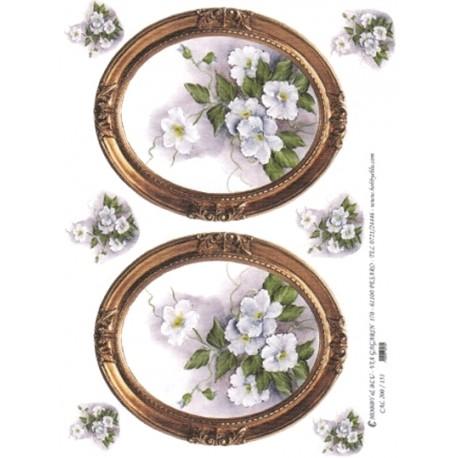 CARTA PER DECOUPAGE CARTA DI RISO 31X42 CAL200/151
