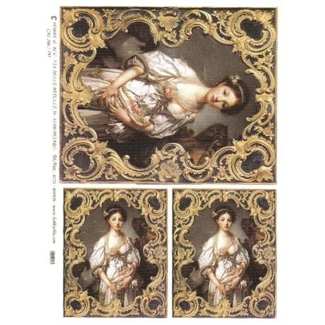 CARTA PER DECOUPAGE CARTA DI RISO 31X42 CAL200/195
