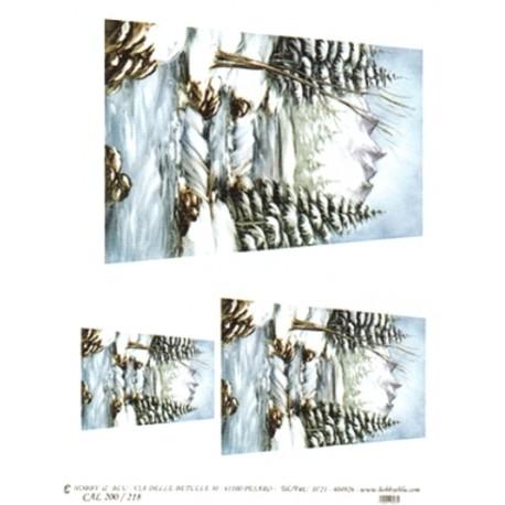 CARTA PER DECOUPAGE CARTA DI RISO 31X42 CAL200/218