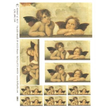CARTA PER DECOUPAGE CARTA DI RISO 31X42 CAL200/249
