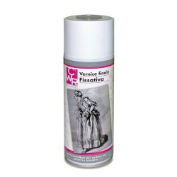 FISSATIVO SPRAY 400ML PER CARBONCINO MATITA PASTELLI ACQUERELLI