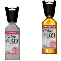 COLORE ACRILICO 3D VARI COLORI PER DECORAZIONI A RILIEVO 35ml