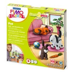 FIMO PANETTI PASTA FIMO KIDS Scatola gioco ANIMALI DOMESTICI STAEDTLER