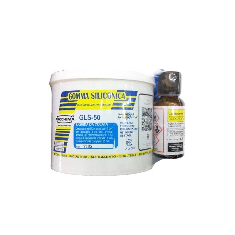 Gomma siliconica liquida da colata gls 50 500gr 2 for Gomma siliconica prochima