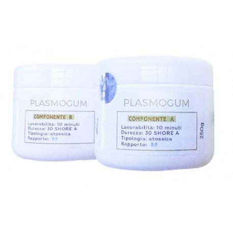 Gomma siliconica plasmabile plasmogum 500gr innochimica ferton for Gomma siliconica per calchi