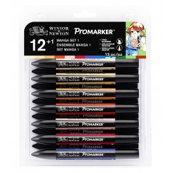 PROMARKER SET EXPANSION 1 - 12 PANTONE + 1  BLENDER OMAGGIO
