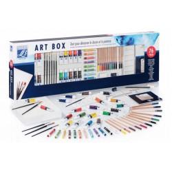 ART BOX  DISEGNO E PITTURA 76 PZ LEFRANC BOURGEOIS