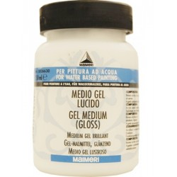 MEDIO GEL LUCIDO 250ML MAIMERI PER COLORI ACRILICI TRANSFER GEL